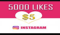 5000 لايك عربي خليجي لصورك على الانستغرام بسرعة