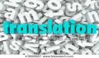 Translation of texts