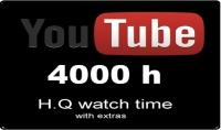اضافة 4000 ساعة مشاهدة حقيقية لقناتك على اليوتيوب حصري