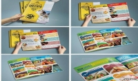 مينيو للطعام لمطعمك او تصميم للعروضات الخاصة بمحلك التجاري