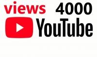 استقبل 4000 مشاهدة على قناتك في اليوتيوب