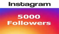 5000 متابع حقيقي على instagram مقابل $5