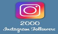 سأضيف لك 2000 متابع حقيقي سريع لحسابك في الأنستغرام instagram followers
