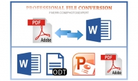 تحرير ملفات pdf والتحويل منها واليها
