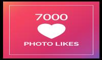 اضافة 7000 لايك لصورك في انستجرام ب5$