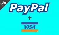 حسابات بايبال مفعلة بكارط Visa جاهزة للاستعمال في أي مجال