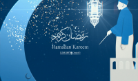 تصميم تهنئة بقدوم شهر رمضان المبارك 2019 1440 Ramadan