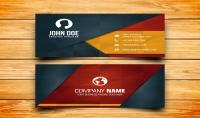 سأصمم لك بطاقة أعمال  Business card  احترافية ب 5دولار فقط