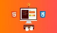 كورس لتعلم لغات البرمجه html و css و مقابل 5 دولار.
