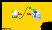 تحويل 500 رقم هاتف من ملف excel او word إلى جهات اتصال vcf