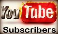 250 مشترك حقيقى متفاعل لليوتيوب مقابل 15$ فقط