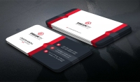 سوف اقوم بتصميم لك بطاقة اعمال شخصية احترافية