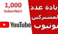 سوف اقوم بجلب 1000 مشترك على قناتك على اليوتيوب فقط 10$