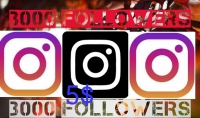 إضافة 3000 Followers لحساب Instagram الخاص بك 5$