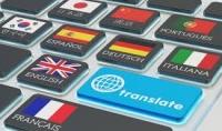 بترجمة 350 كلمة انجلزية او فرنسية نحو اي لغة