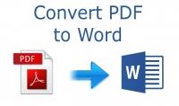 تحويل نصوص دون العدد المجدود من word إلى pdf