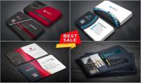 تصميم كارت شخصي إحترافي وأنيق  business card  شامل ال QR كود