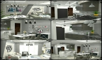 التصميم الداخلي والديكور والتصميم المعماري والرسومات التنفيذية