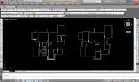 تصميم مخطط معماري بالاوتوكاد مع تنظيم المساحات باحترافيه