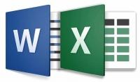 ادخال وتنظيم البيانات أو الأرقام علي Word أو Excel وتنسيقها.