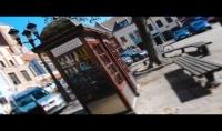 سأقدم لك فيديو حقيقي لشعارك او نصوصك المكتوبة وسط المدينة