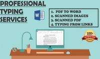 أقوم بتحرير ملفات PDF والصور الممسوحة ضوئيا و تحويلها الى ملفات WORD قابلة للتعديل