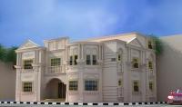 تصميم معماري لاي مبني وعمل مناظير داخليه وخارجيه