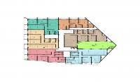 عمل مخطط للشقق السكنيه 2d