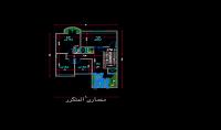 رسم مخططات ولوحات هندسية عن طريق برنامج اوتوكاد   autocad