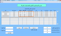 شاشة لإظهار مستخدمي قاعدة بيانات ORACLE