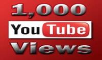 1000 مشاهدة حقيقية لفيديو اليوتيوب الخاص بك ب 10 دولار