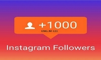 اضافة 1000 متابع علي انستغرام ب 5 $