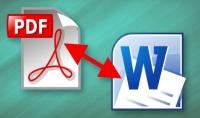 تحويل ملف من pdf الى word كل 50 صفحة مقابل 5 دولار فقط