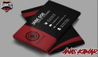 3 بطاقات العمل   Business Cards احترافية
