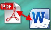 تحويل ملفات pdf إلى WORD و العكس
