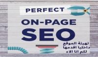 فحص و تهيئة موقعك داخليا On Page SEO لتصدر نتائج البحث