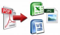 يمكنني تحويل ملفات pdf إلى ملفات word و excel و بالعكس و يمكنني تحويل صورة إلى pdf وبالعكس