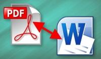 تحويل ملفات ال pdf إلى word بالفرنسية او الانجليزية