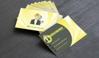 تصميم بطاقة عمل احترافيه وعالية الجوده مقابل 5$ للوجهين لاول 3 عملاء