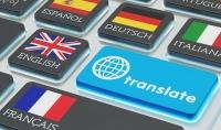 الترجمة من الفرنسية الى الانجليزية او العكس و من الانجليزية الى الاسبانية و العكس