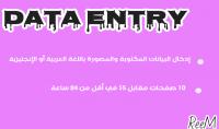 إدخال بيانات Data entry باستخدام ملف word excel PowerPoint