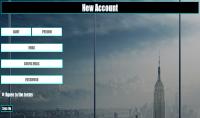 صفحة تسجيل دخول و تسجيل حساب جديد جاهزة لك