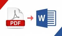 تحويل ملف PDF الى WORD باحترافية  50 صفحة ب 5 دولار
