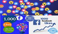 200 لايك حقيقي على صفحة الفايسبوك فقط ب 5 دولار