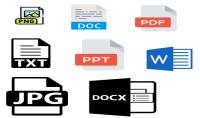 تحويل الملفات من وإلى كل الصيغ pdf png word txt docs jpg....etc
