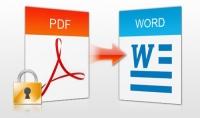 سأقوم بتحرير أي ملفات PDF إلى Word وتحرير تفاصيل المستند الخاص بك مهنيا : الألوان و الصور والعرض
