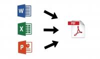 تحويل ٤٠ صفحة من اي ملف اوفيس الى pdf او صور