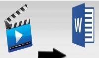 تفريغ الملفات الصوتية والفيديوهات الى الوورد
