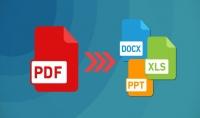 تحويل ملفات PDF إلى ال WORD و ال EXCEL أو العكس