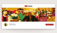 تصميم غلاف قناة يوتيوب إحترافي   مهما كان نوع محتوى قناتك سوف اصمم لك غلاف راقي